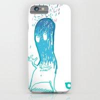 iPhone & iPod Case featuring 002_rain by teddyBOY