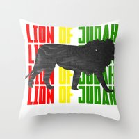 Lion (The Living Things Series) *Stanley Edition* Throw Pillow