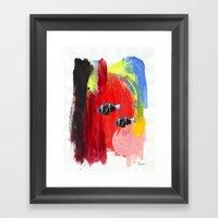 Paint The Blues Away Oce… Framed Art Print