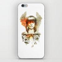 Evil's Smoke iPhone & iPod Skin