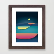 Venus is always there Framed Art Print