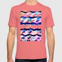 Swell Mens Fitted Tee Pomegranate SMALL