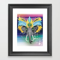 Life Is A Carnival Framed Art Print
