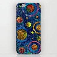 Full of Golden Dots - color variation iPhone & iPod Skin