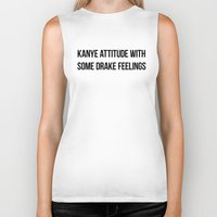 Attitude And Feelings Biker Tank
