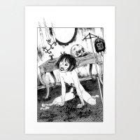 Crippled Art Print