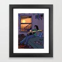 AUTUMN EQUINOX Framed Art Print