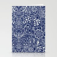 Detailed Floral Pattern … Stationery Cards