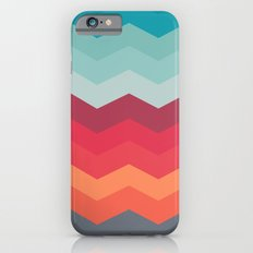 Color strips pattern iPhone 6 Slim Case