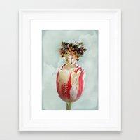 La Tulipe Framed Art Print
