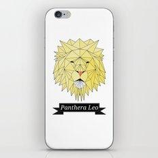 Panthera Leo iPhone & iPod Skin