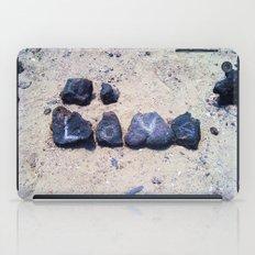Love On The Beach iPad Case