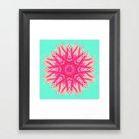 Sprawl Framed Art Print