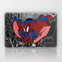 Spidey and the City Laptop & iPad Skin
