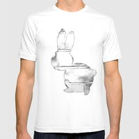 B-Bunny Mens Fitted Tee White SMALL