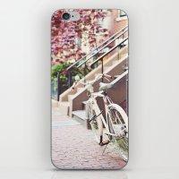 Bike Alongside Stoops In… iPhone & iPod Skin