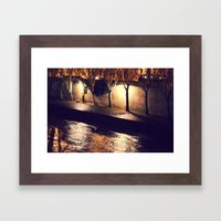 River Seine Framed Art Print