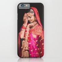 iPhone & iPod Case featuring Bollywood Bride by Tashi Delek