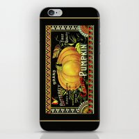 Golden Pumpkin iPhone & iPod Skin