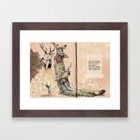 The Start of Something Beautiful Framed Art Print