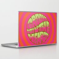 Laptop & iPad Skin featuring Groove Is In The Heart by Roberlan Borges