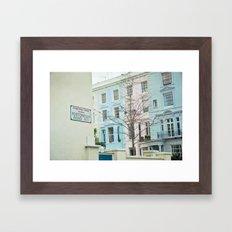 Portobello Road  Framed Art Print