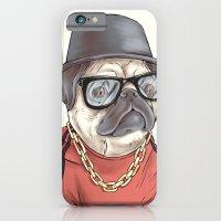 90's Pug rapper iPhone 6 Slim Case