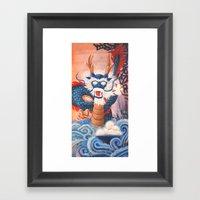 Pearls of Wisdom Framed Art Print