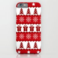 Christmas Pattern iPhone 6 Slim Case