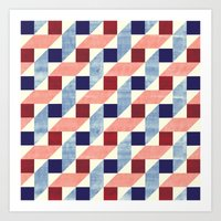 Lightly Bauhaus Art Print