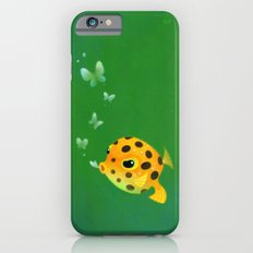 Yellow boxfish iPhone 6 Slim Case