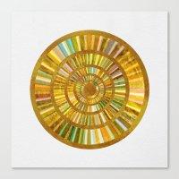 Sun Mandala 6 Canvas Print