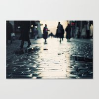 Shopping Canvas Print