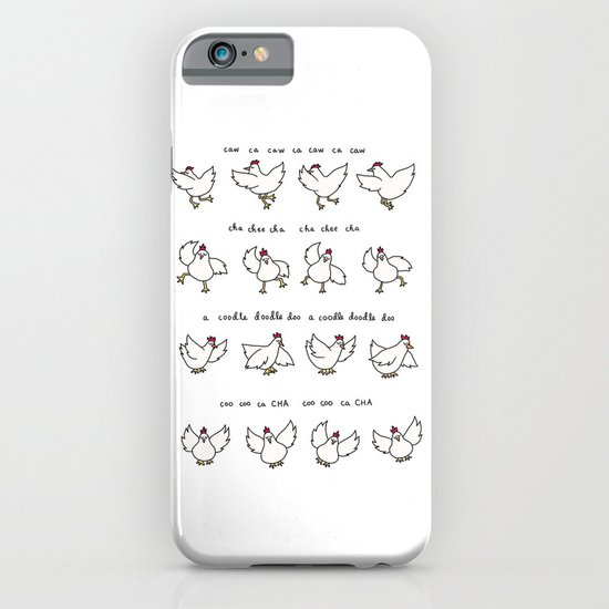 Chicken Dance iPhone & iPod Case