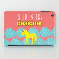 Design and Be Awesome! iPad Case