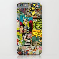 iPhone Cases featuring COMIC by studio VII