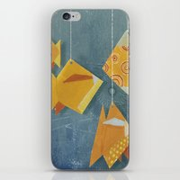 Clovis sleeping with fish iPhone & iPod Skin