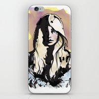 Blonde iPhone & iPod Skin