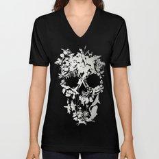 Simple Skull Unisex V-Neck