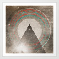 Stereo Induction Art Print
