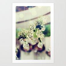 Flower photo Art Print