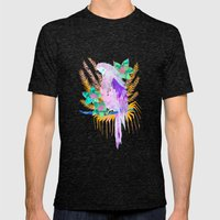 PARROT Elua Style B Mens Fitted Tee Tri-Black SMALL