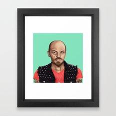Hipstory -  Lenin Framed Art Print