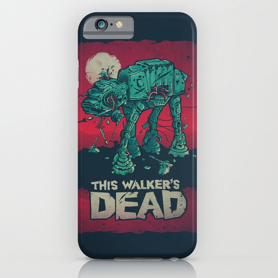 Walker's Dead V2 iPhone & iPod Case