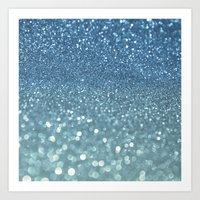 Bubbly Sea Art Print