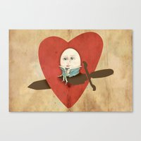 The Lover Canvas Print