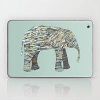 Elephant Paper Collage I… Laptop & iPad Skin
