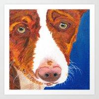 Josefina (old Man Eyes) Art Print
