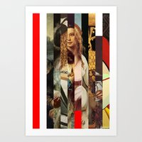 Stars In Stripes 5 Art Print