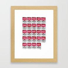 Cool Beans—Pattern! Framed Art Print